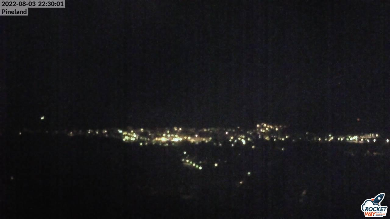 Vista dal Villaggio di Pineland : immagine da webcam