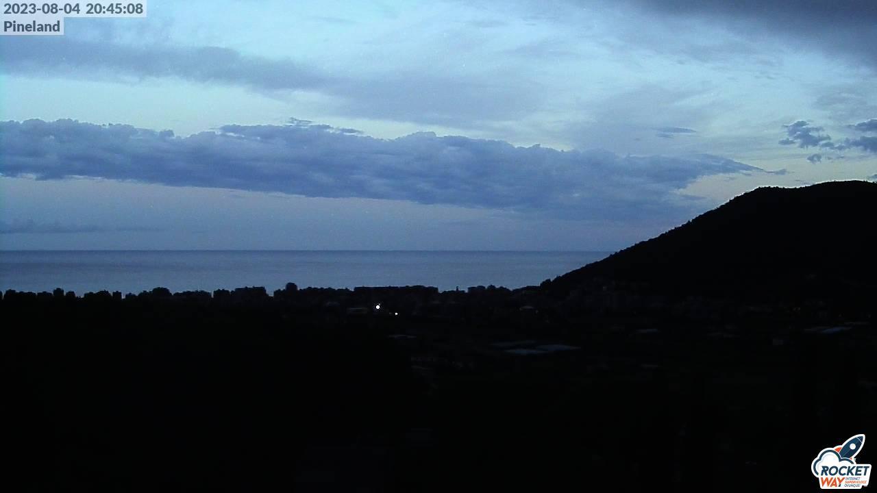 Vista dal Villaggio di Pineland - immagine da webcam