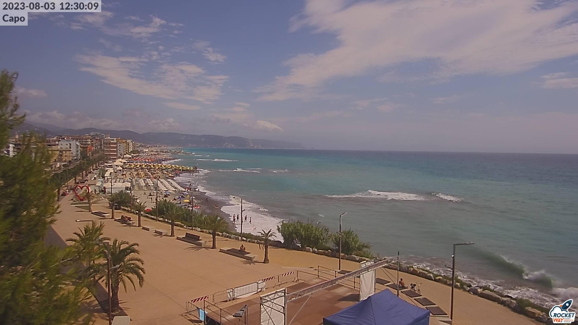 Immagine da webcam posizionata presso l'Approdo turistico